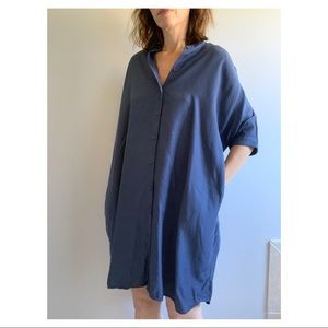 & Other Stories Blouson Dress with Pockets Size 6
